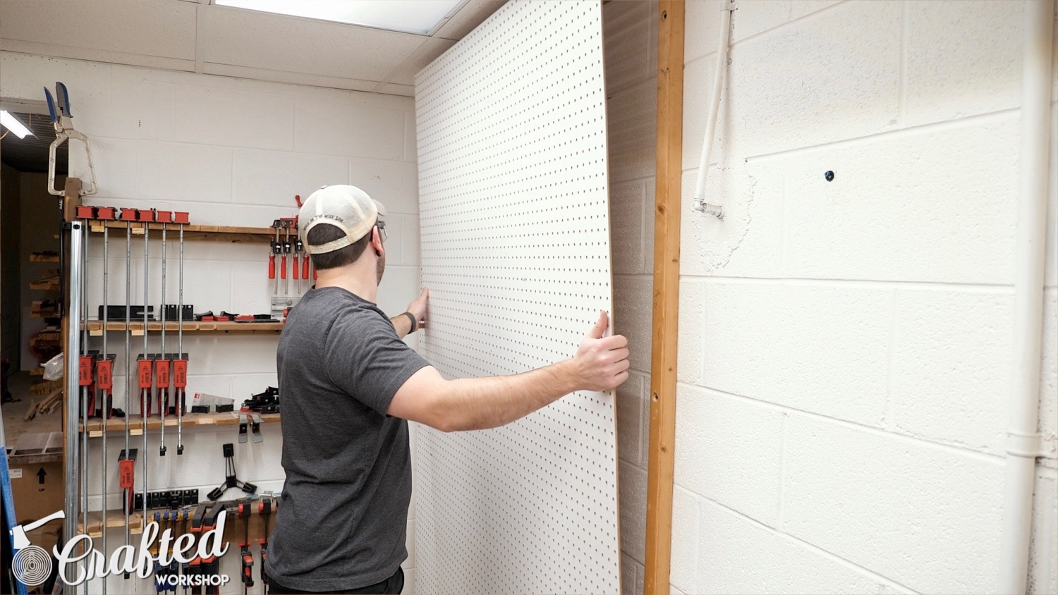 Picture of Remove the Pegboard & Rip the French Cleats