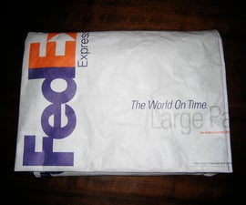 Laptop Sleeve from a FedEx Envelope