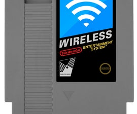 NES Cartridge Wireless Router