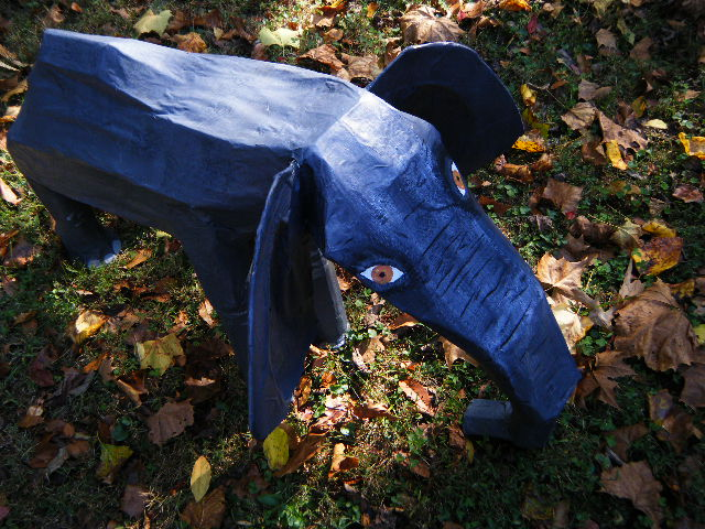 Picture of Paper Mache Elephant