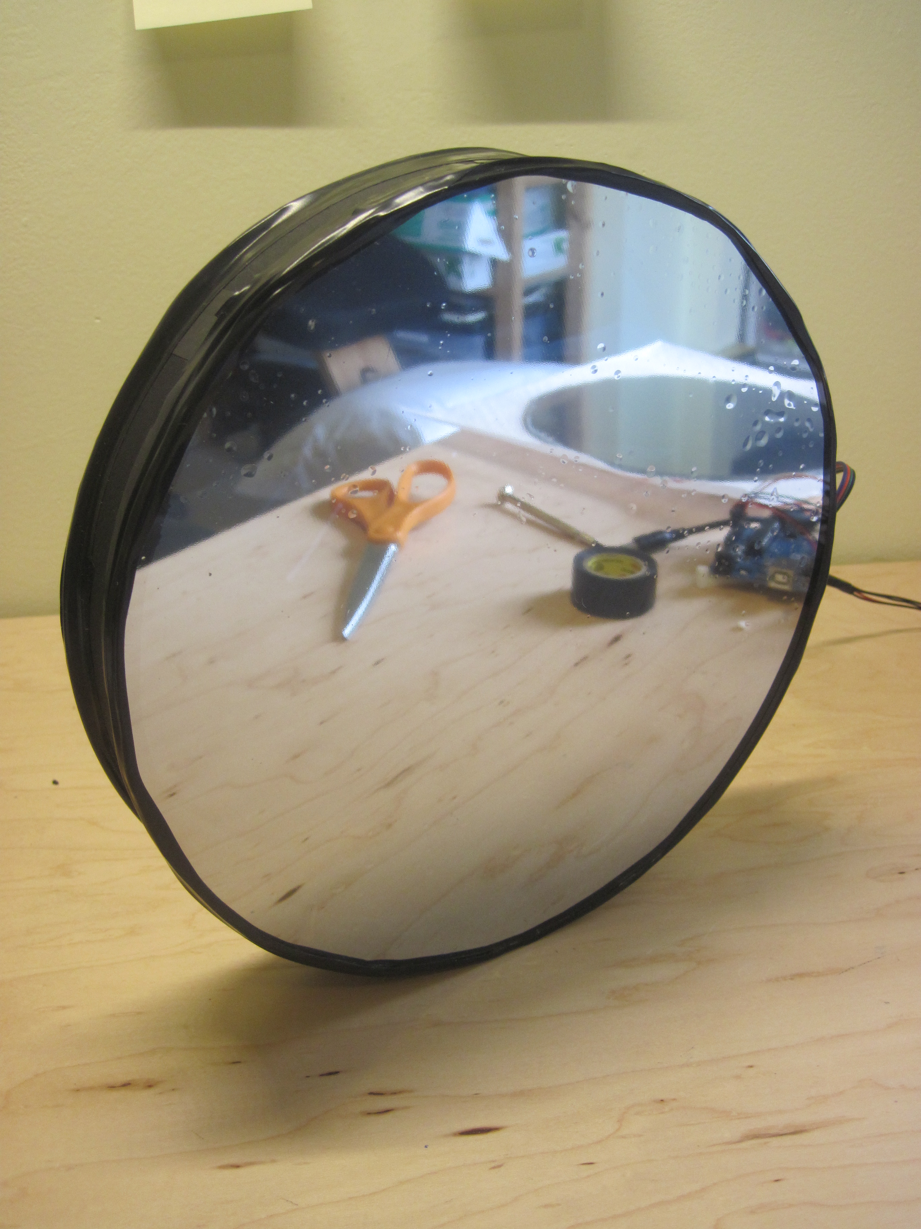 Picture of Attach One-Way Mirror to the Frame