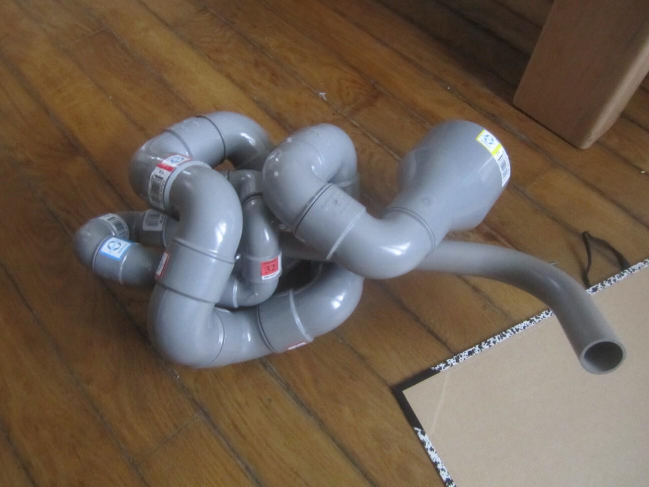 """Picture of PVinnCeridoo: """"snake-like"""" Folded PVC Djinngeridoo"""