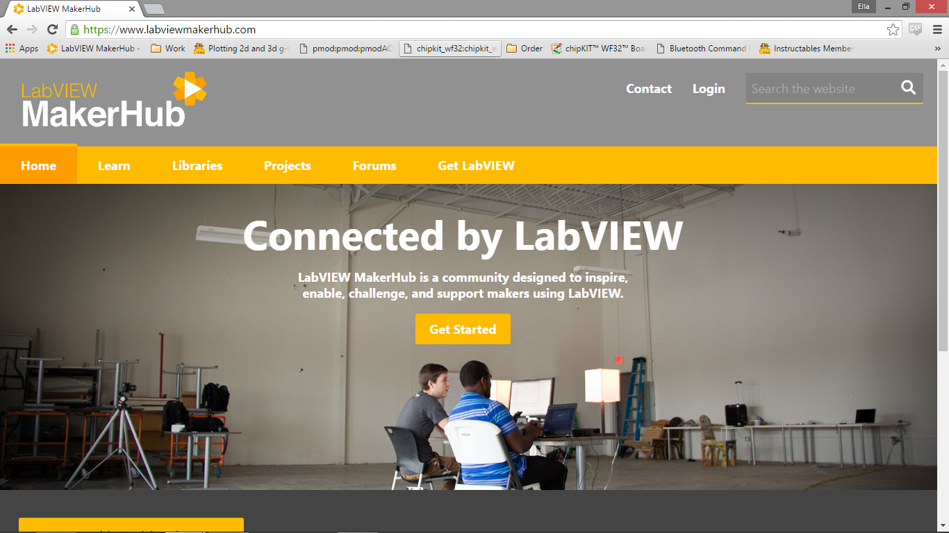 Picture of LabVIEW MakerHub