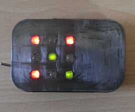 LED Sensor - TicTacToe Game
