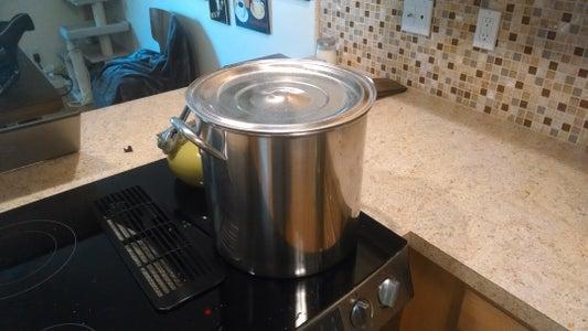 Step 2: Distilled Water