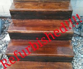 Stair Case Refurbishing