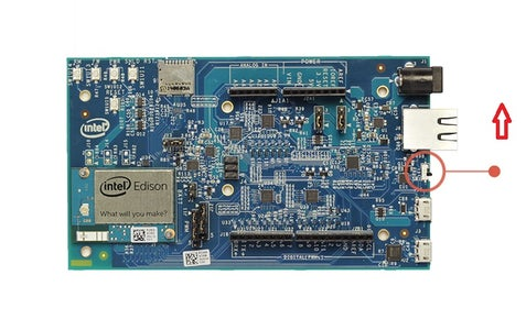 Connecting the SDR to Intel Edison and Initial Configuration