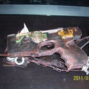 my post apocalyptic steam punk hand gun
