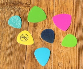 Recycle Plastic Into Guitar Picks!