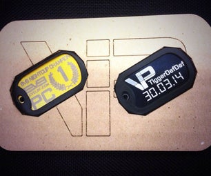 ==Made @ Techshop== Up-cycle Flub-ups Into Trophy Tags!