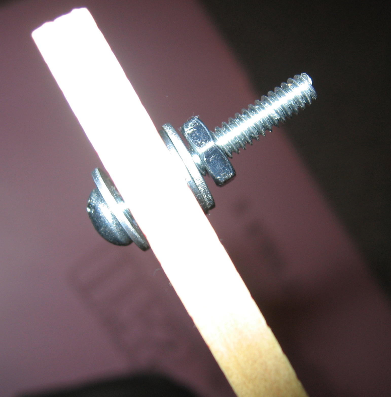 Picture of Attaching the Lead Wires to the Frame