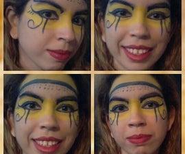 Egyptian Queen Face Paint