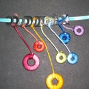 Hardware Jewelry: Wrapped Washer Necklaces