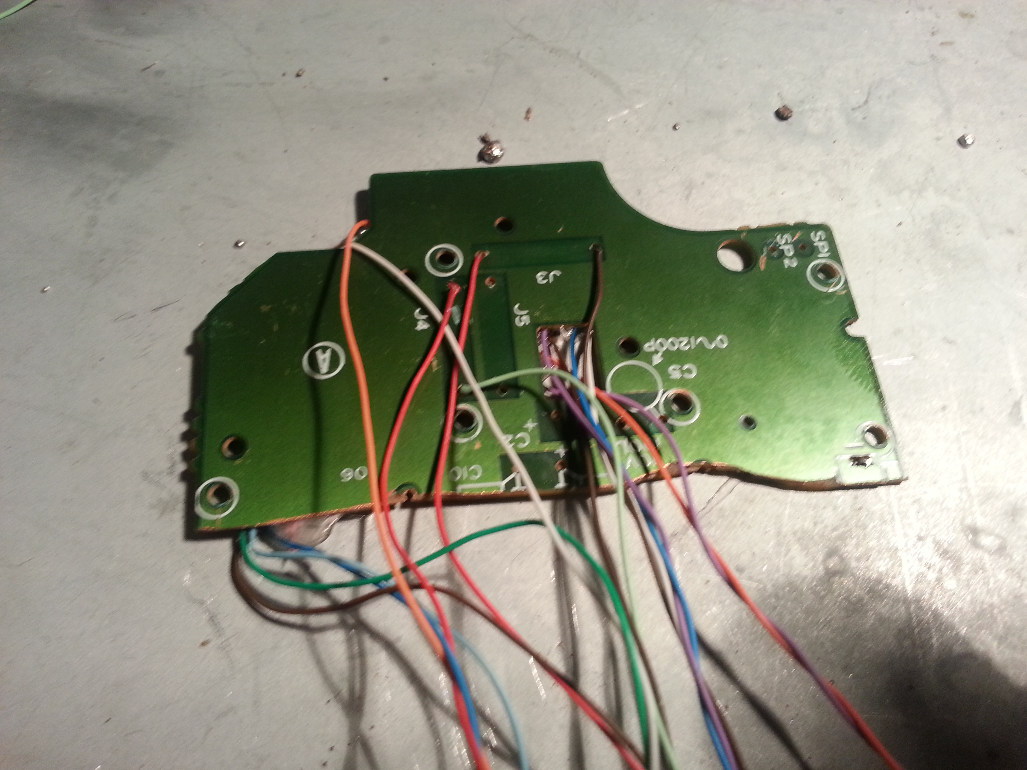Picture of Soldering Game Boy Game Pad