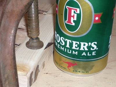 Scoring and Cutting the First Can