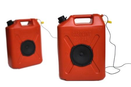Jerrycan Speakers
