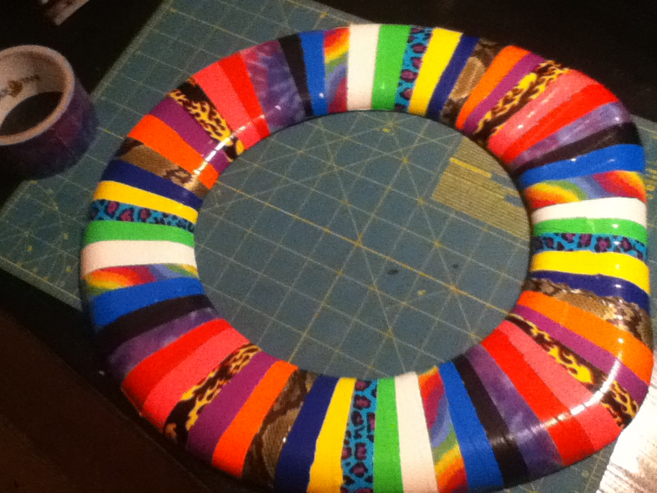 Picture of Duct Tape Toilet Seat Cover