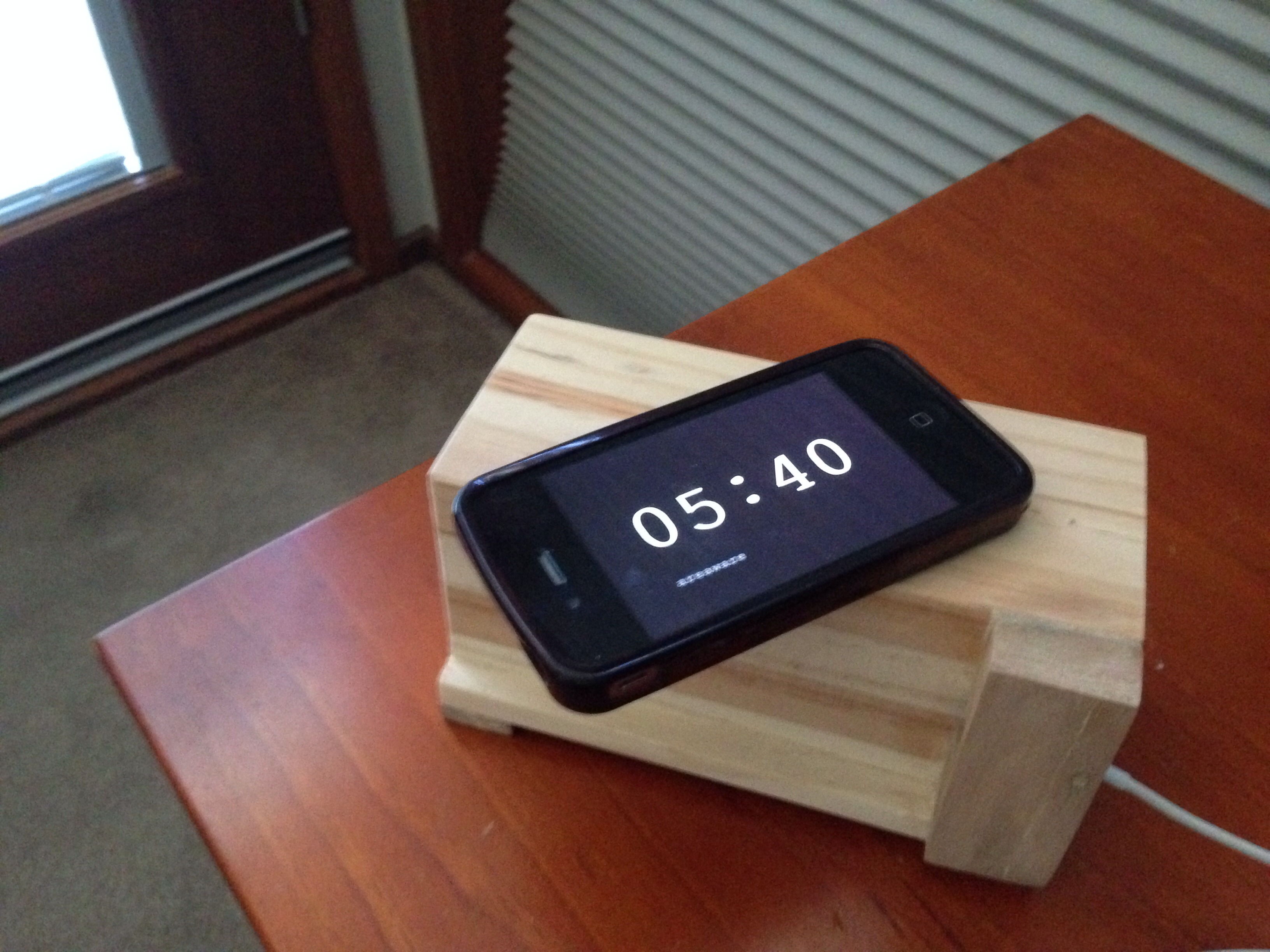 Picture of Retro Phone Dock From Scrap