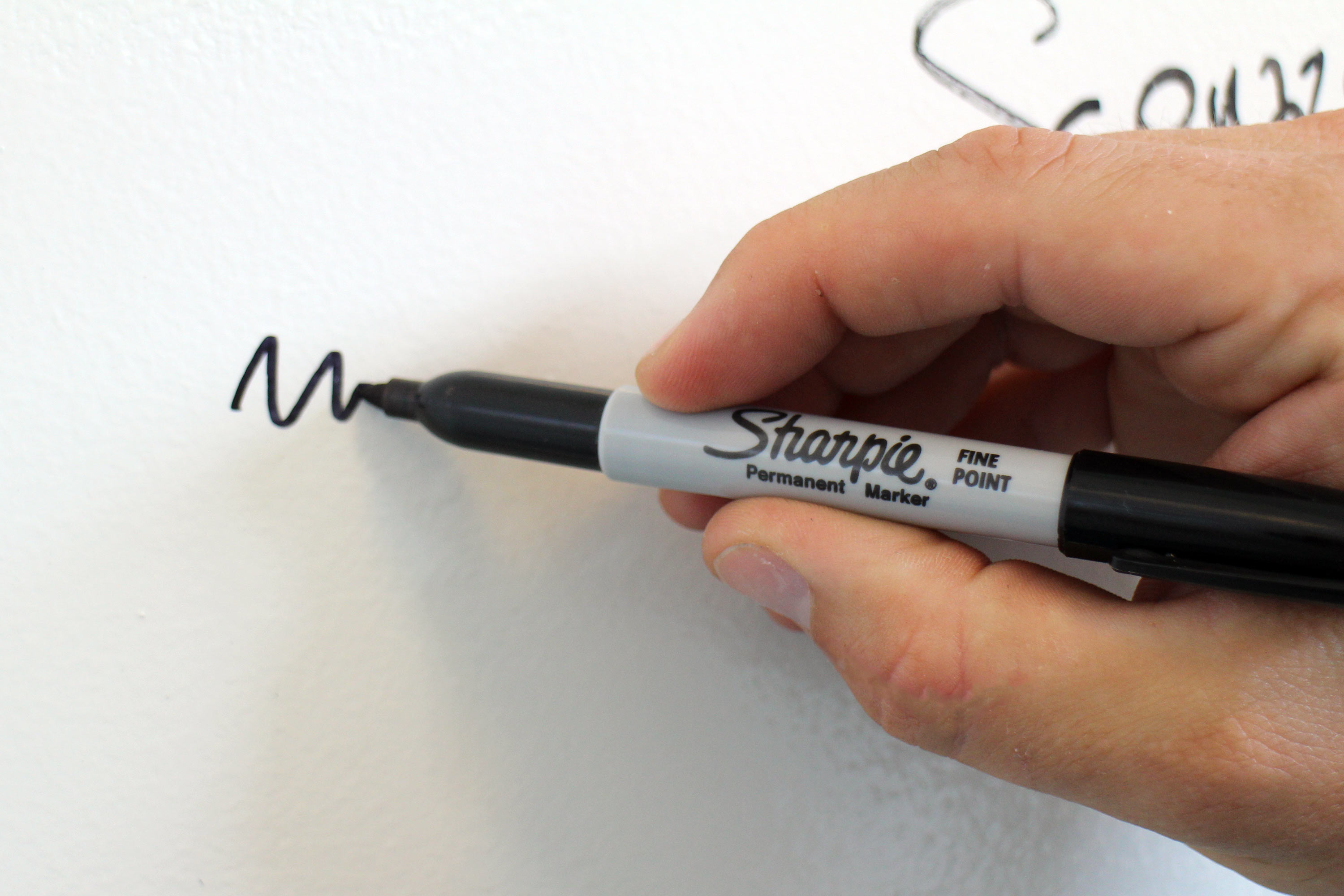 Picture of Remove Permanent Marker From Walls, and Other Non-porous Surfaces (Sometimes)