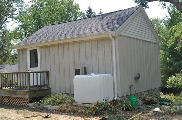 DIY 275 Gallon Rainwater Collection