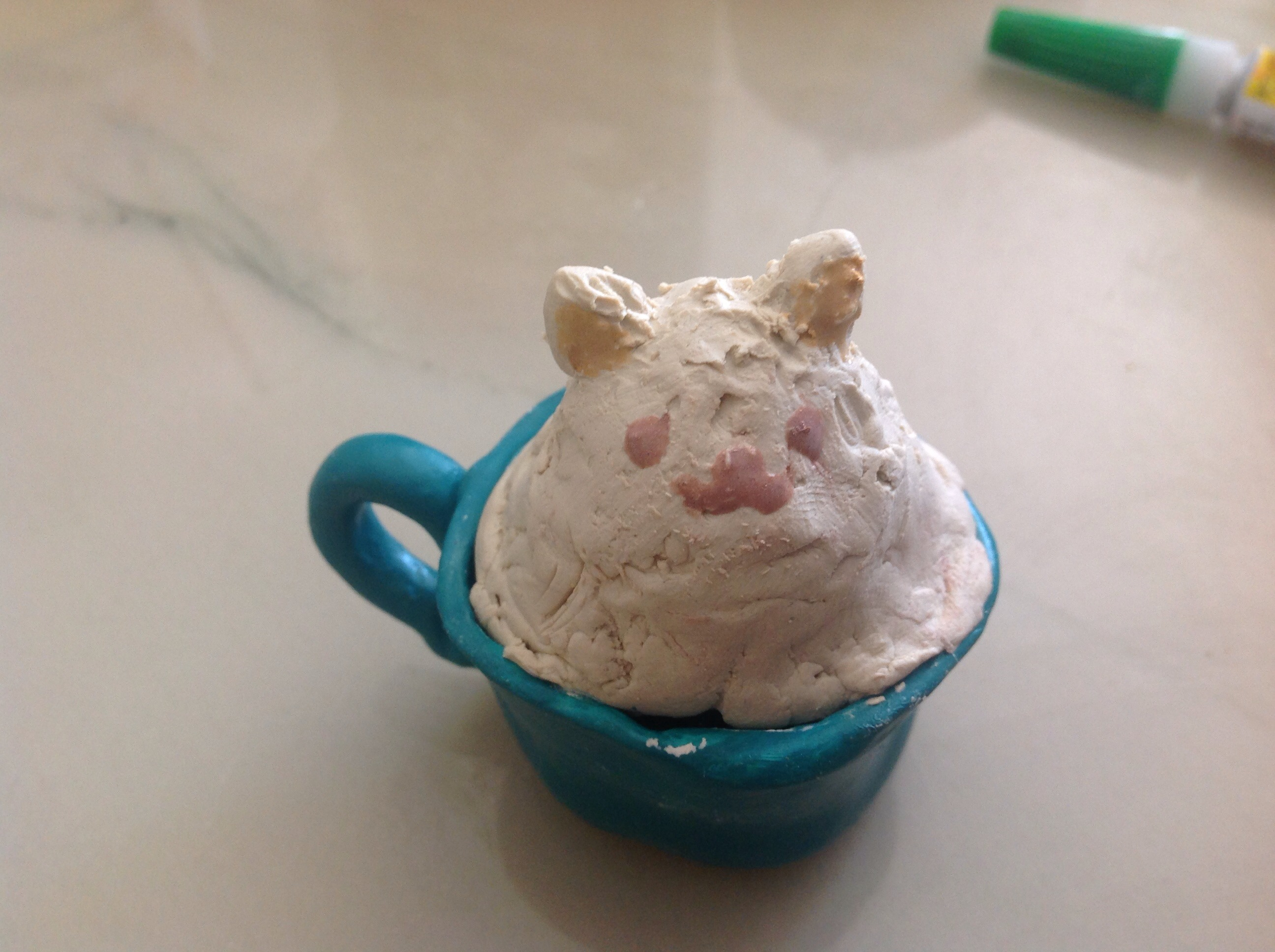 Picture of Making the Kitty Latte Art
