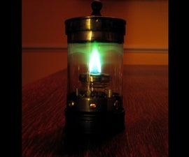 Snapple, Steel and Green Fire: Bride of Spirit Lantern