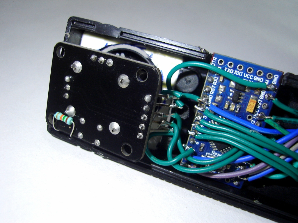 Picture of The Electronic Parts of -
