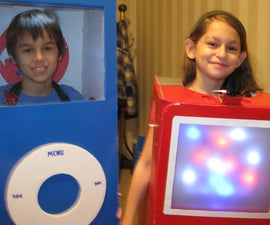 Create Real working iPod Costume(s)