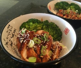 Chicken Teriyaki (From Scratch)