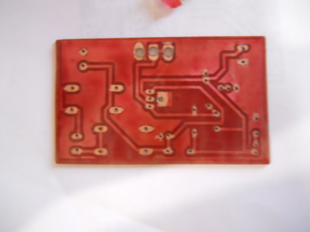Picture of LM317T Variable Voltage Power Supply