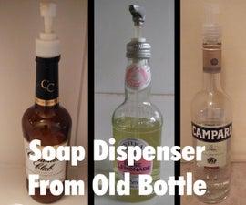 Soap Dispenser From Old Bottle