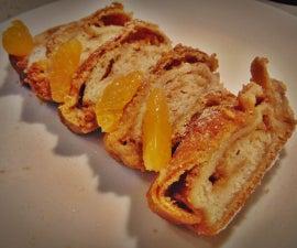 Homemade Dough and Apple Strudel - Vegan Recipe