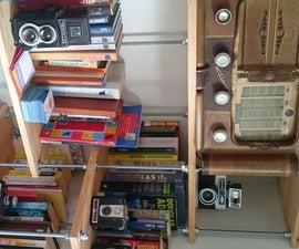 Threaded Rod Bookcase