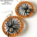 How to Make Spider Earrings With Coffee Pods - Halloween