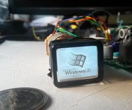 Hacking Camcorder CRT Viewfinders