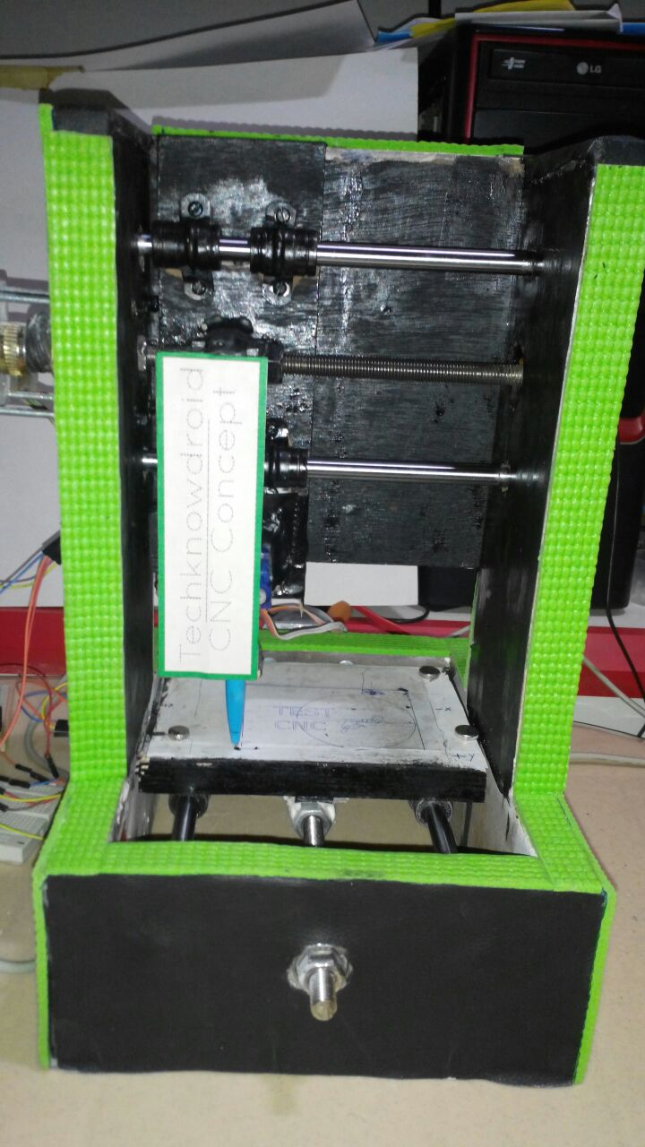 A Simple DIY Arduino Controlled CNC Machine Pen Plotter or PCB Mill ...