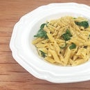 Creamy Garlic & Spinach Alfredo [Low Sodium]