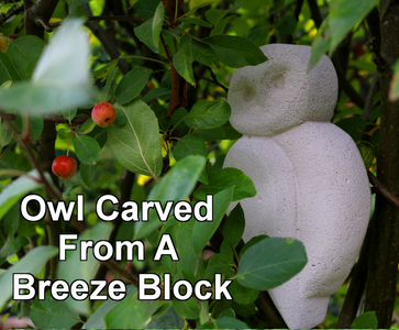 How to Carve an Owl From a Breeze Block