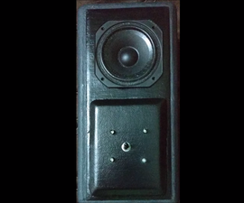 Handmade LED Speaker Enclosure