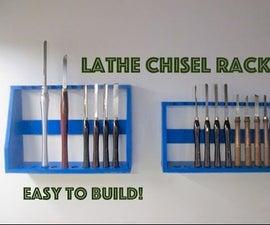 Lathe Chisel Rack