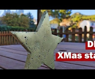 How to Make a Brass Christmas Star