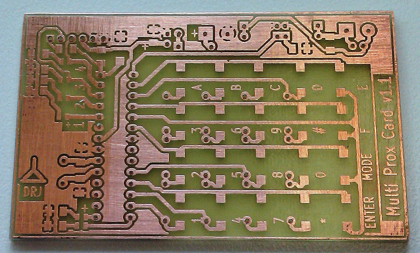 Picture of Etching the PCB