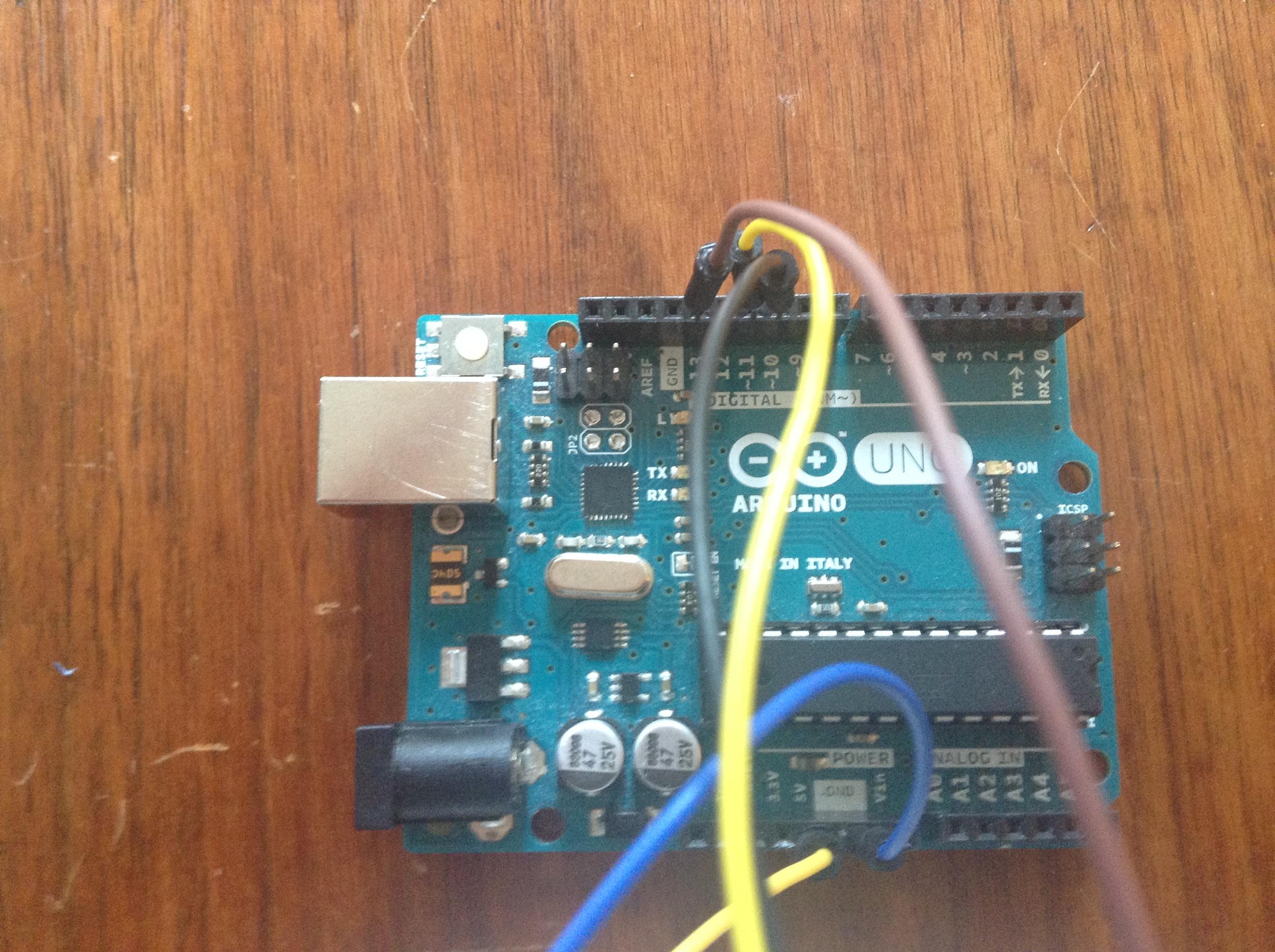 Picture of Serial Printing Hygrometer-Circuit