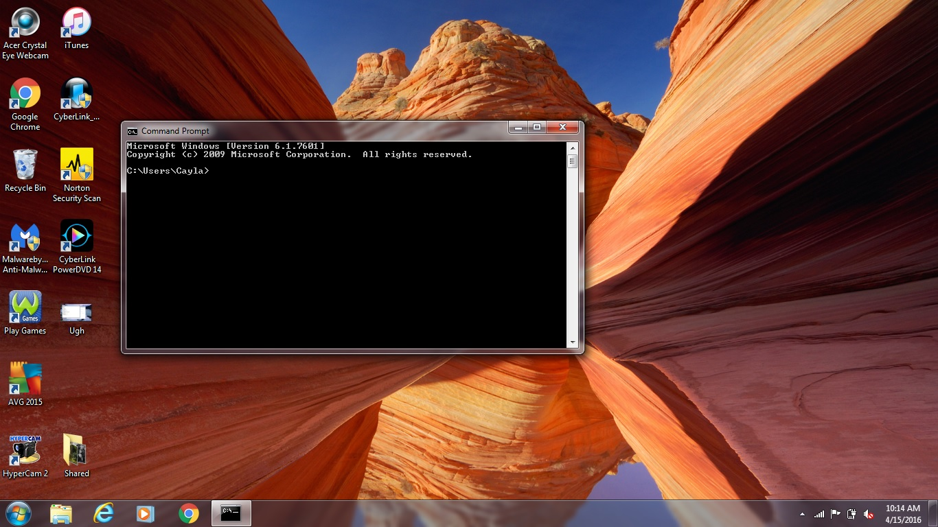 Picture of Open a Command Prompt Window