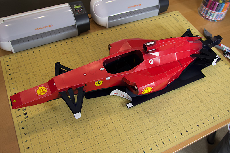 Picture of Ferrari F1 - Papercraft Racer