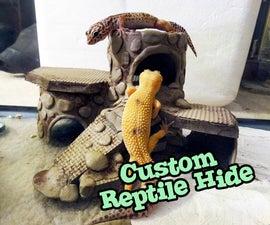 Flintstones Inspired Desert Reptile Hide