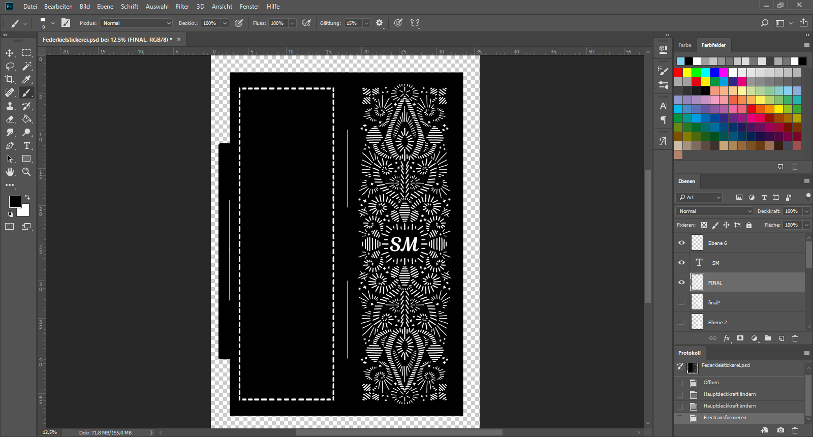 Picture of Finish Your Bookmark Design