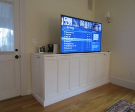 How to Make a TV Lift cabinet