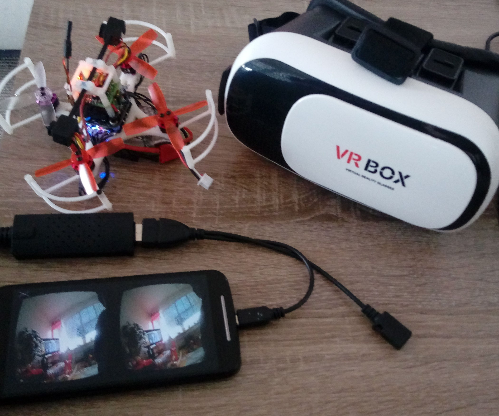 Lowcost 3d Fpv Camera For Android 7 Steps With Pictures Ntsc Pal Development Board