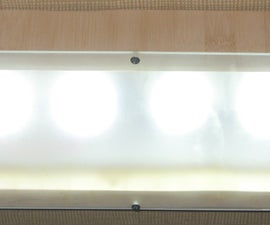 Turn Your 12V DC or 85-265V AC Fluorescent Light to LED - Part 2 (External Appearance)